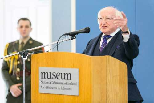 President attends an event to mark the 20th anniversary of the National Museum of Ireland