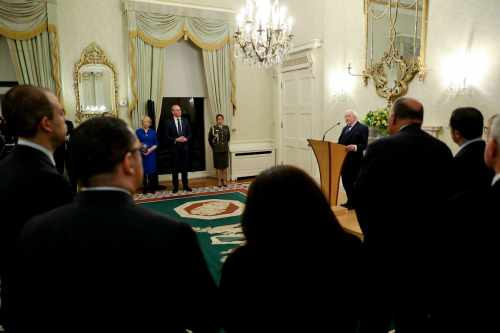 President receives Tánaiste Simon Coveney and a number of Foreign Affairs Ministers