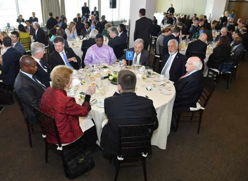 President attends high-level luncheon at United Nations