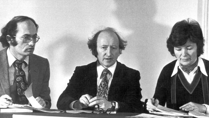 Michael D ,Pat and Mary Robinson
