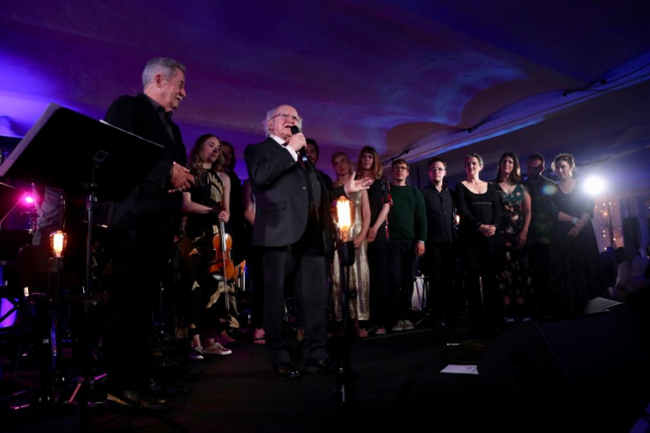 President and Sabina host Other Voices Concert in honour of President Steinmeier and Mrs. Büdenbender