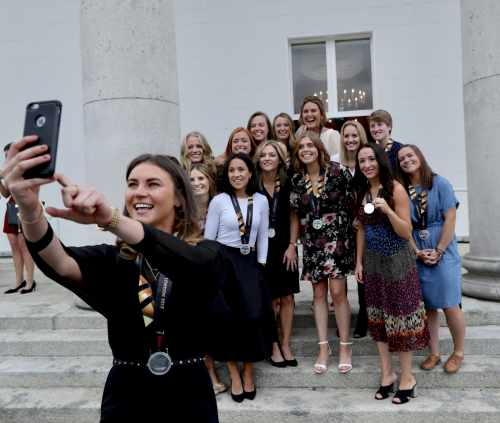 President Hosting A Reception To Honour The Irish Womens' Field Hockey Team