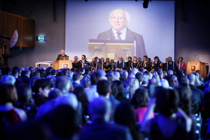 President addresses the Open University 50th Anniversary Ceremony