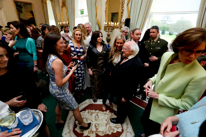 President and Sabina host reception to celebrate Female Entrepreneurship, Innovation, Creativity…