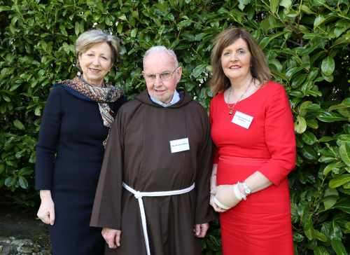 Pic shows from left  Ms.Olivia O'Leary who opened the seminar,Br.Kevin Crowley and Dr. Mary Mc Donnell Naughton.