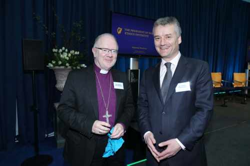 Pic shows The Most Rev.Richard Clarke and Dr.Patrick Prendergast,TCD