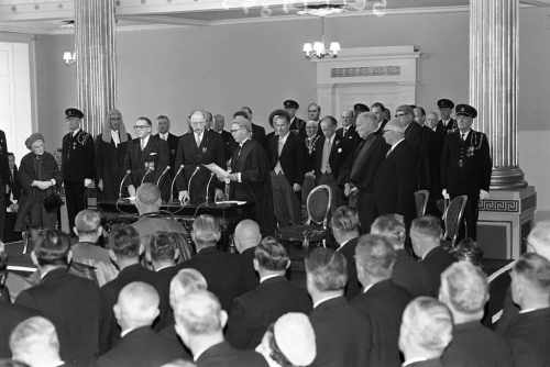 2nd Inauguration of President De Valera