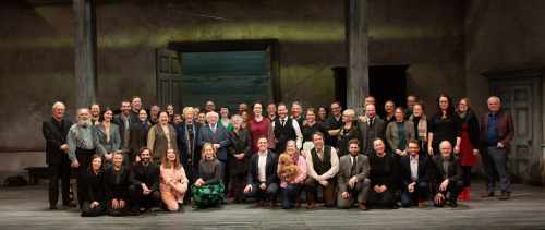 President attends opening night of The Cherry Orchard by Tom Murphy