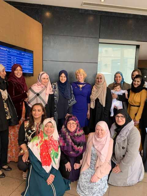 Sabina attends International Women's Day breakfast hosted by Muslim Sisters of Éire