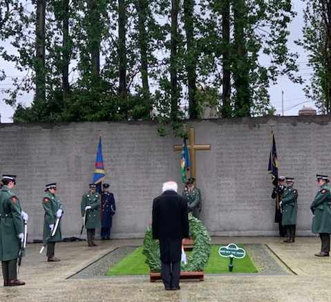 President attends 1916 Annual Arbour Hill Commemoration Ceremony