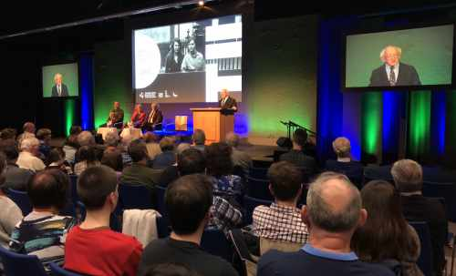President Gives A Keynote Address At Closing Ceremony Of 2018 Dublin Festival Of History
