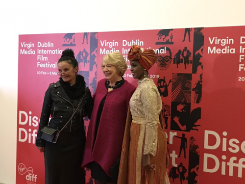 "Sabina attends the Irish Premiere of ""A Girl from Mogadishu"""
