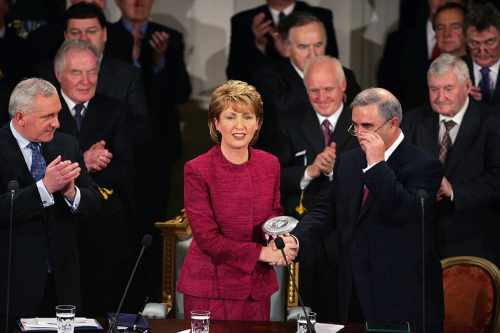 2nd Inauguration of President McAleese