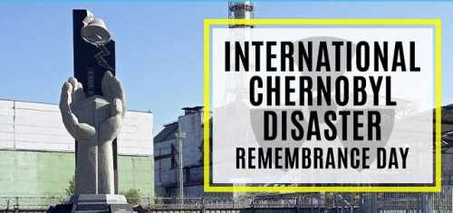 President and Sabina mark International Chernobyl Disaster Remembrance Day