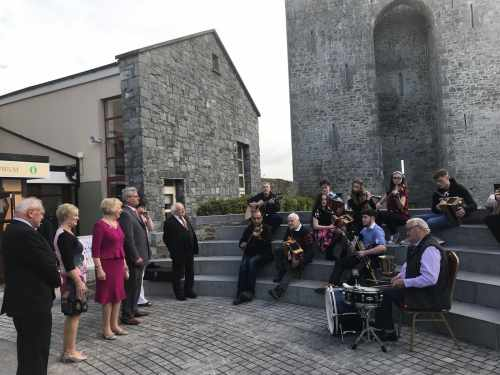 President visits the recently refurbished Listowel Writers Centre