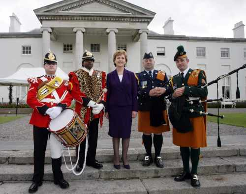 President McAleese hosts 12th July Garden Party