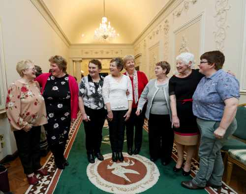 President Hosts Afternoon Tea Reception for community groups