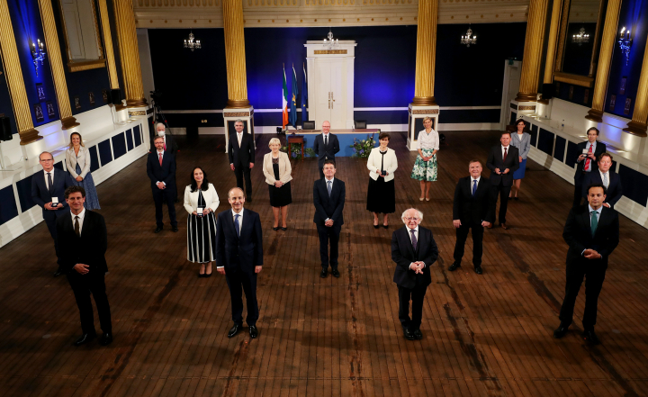 President appoints members of Government