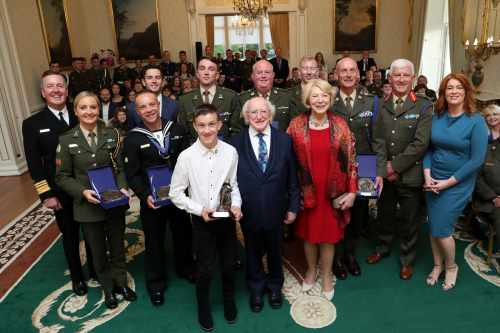 President hosts Defence Forces Values Awards
