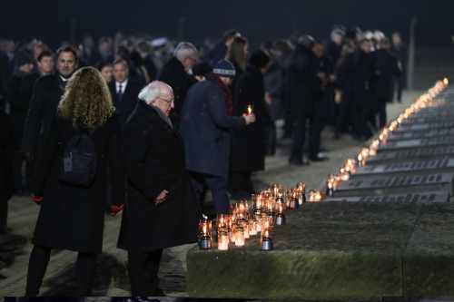 President attends the 75th Anniversary Commemoration of the Liberation of Auschwitz-Birkenau