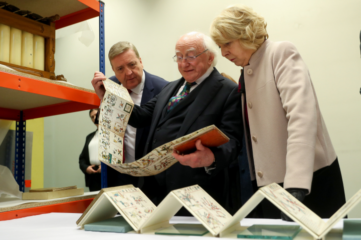 President and Sabina visit Liverpool World Museum