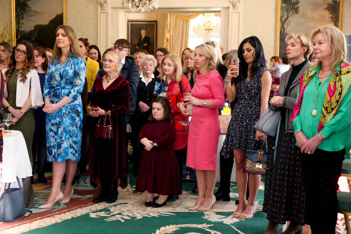 President hosts reception to mark International Women's Day 2020