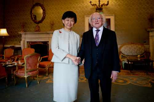 President receives Ms. Izumi Nakamitsu, United Nations Undersecretary General and High Representative for Disarmament Affairs