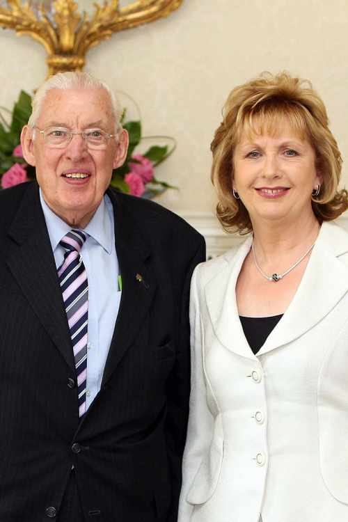 President McAleese and Rev Ian Paisley