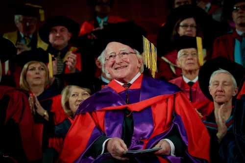 President Receives Honorary Doctorate From The University Of Western Australia