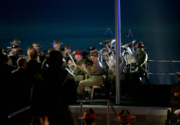 Pictured is the Anzac Spirit of Place and Dawn Service at Gallipoli
