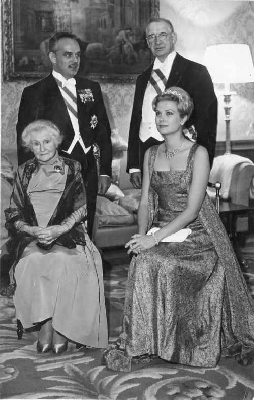 Prince Rainer and Princess Grace of Monaco