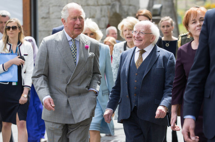 President and Sabina visit the Glencree Centre for Peace and Reconciliation