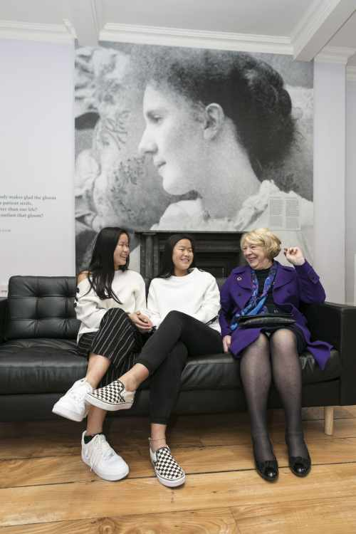 Sabina opens Exhibition themed around the Life and Legacy of Eva Gore-Booth