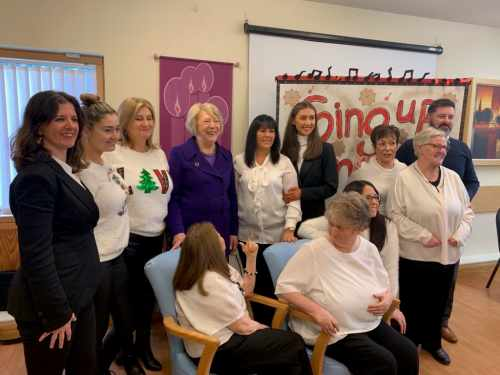 Sabina attends St Louise's Centre