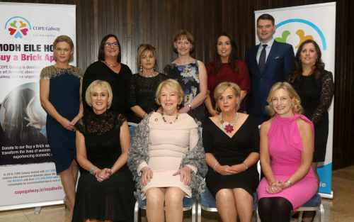 Sabina attends event for Modh Eile House, COPE Galway's New Domestic Abuse Refuge & Service