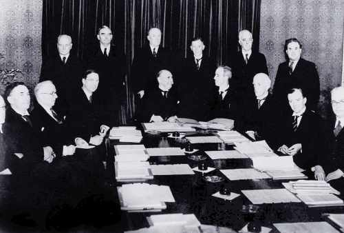 First Council of State Meeting