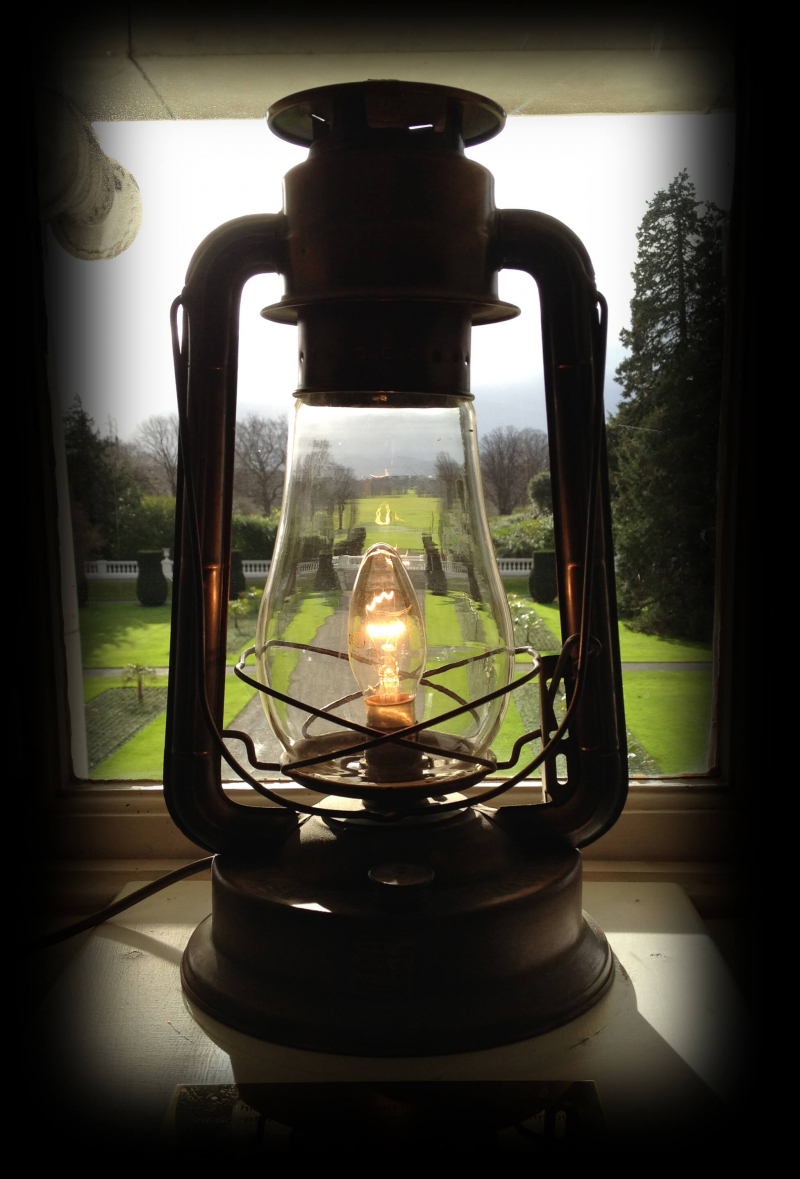 The Tilley lamp for the diaspora is always on at Áras an Uachtaráin