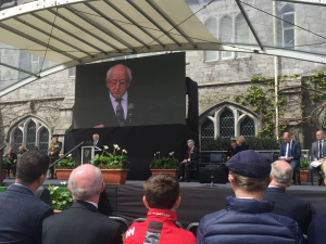 President participates in the National Famine Commemoration Ceremony