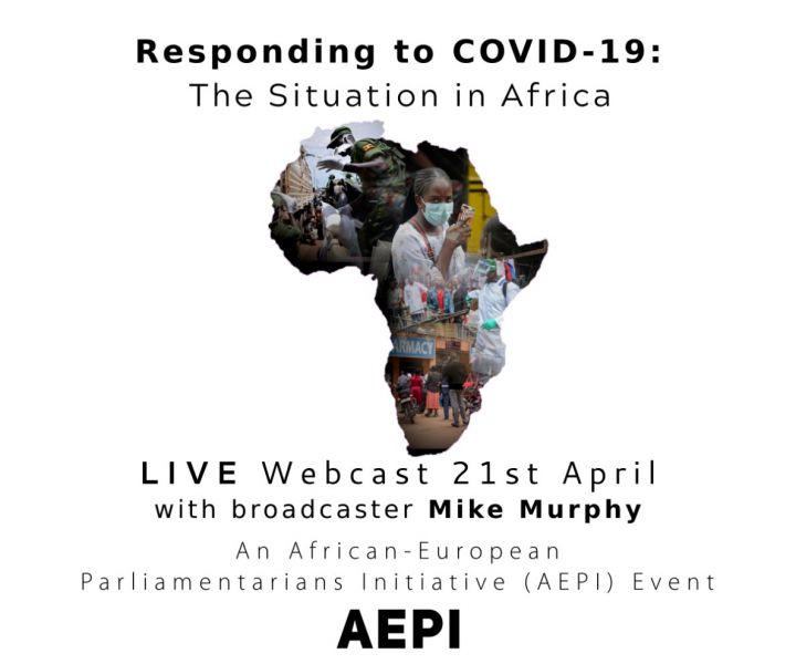 President addresses AEPI webconference 'Responding to Covid-19 - The situation in Africa'