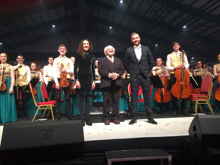 President and Sabina attend Peace Proms 2019