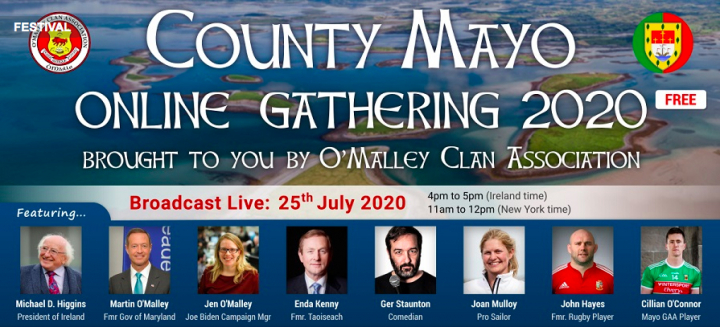 The O'Malley Clan Global Virtual Gathering