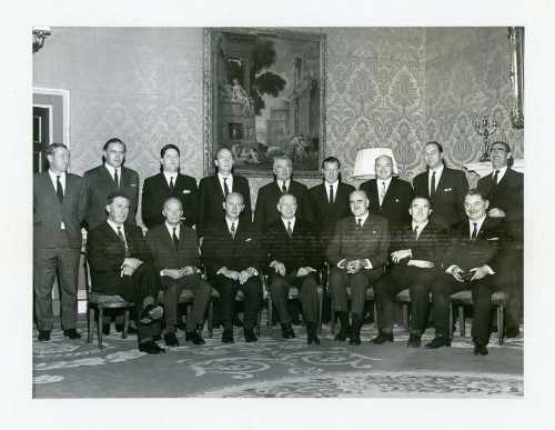 President De Valera and new cabinet members