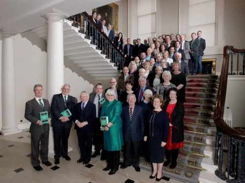 President gives an address at the launch of the Cambridge History of Ireland