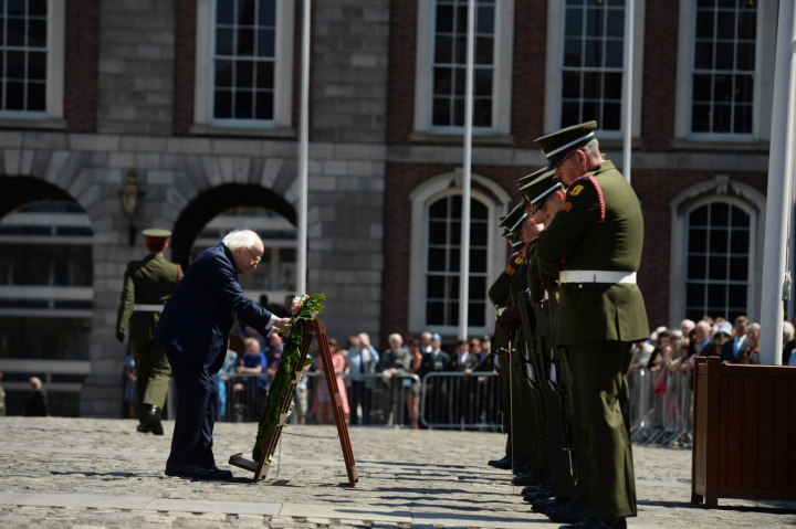 President attends a State Event marking the 60th Anniversary of Irish UN Peacekeeping deployments