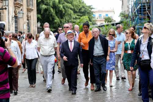 Official Visit to Cuba
