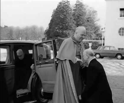 Cardinal Conway is welcomed home from Rome
