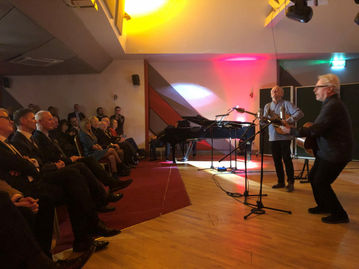 President attends the launch of new Visitor Experience at Windmill Lane Recording Studios