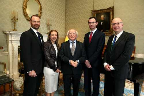 Winners of the SFI President of Ireland Young Researchers Award