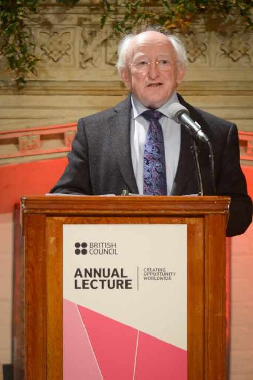 President delivers the 2012 British Council Annual Lecture