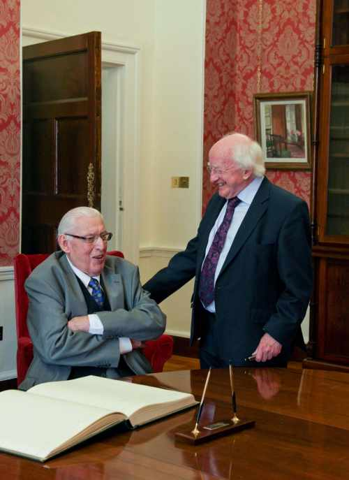 Statement by President Michael D. Higgins – Dr Ian Paisley